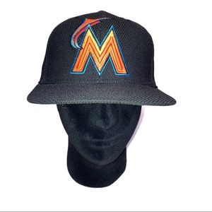 Florida Marlin's MLB New Era 59Fifty Fitted Cap